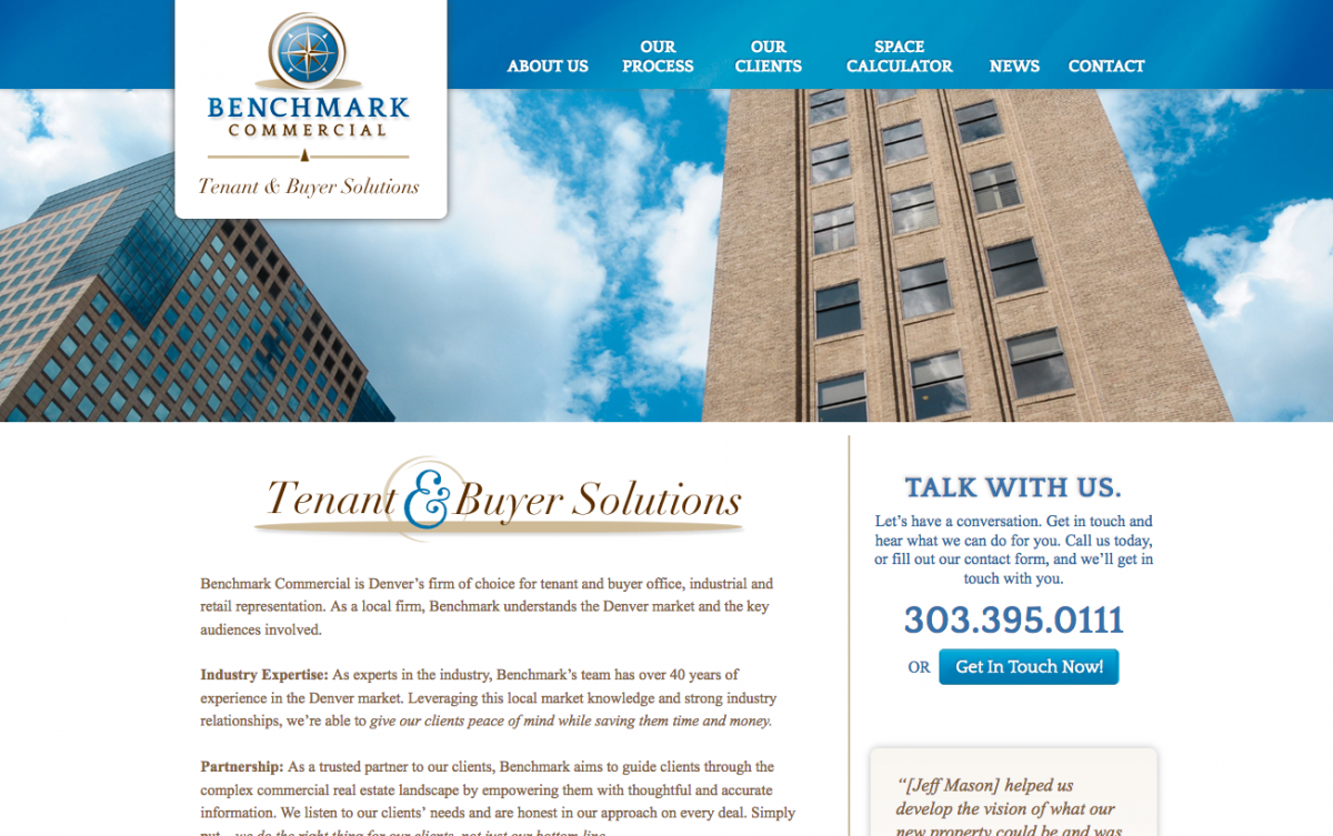 Benchmark Commercial Real Estate