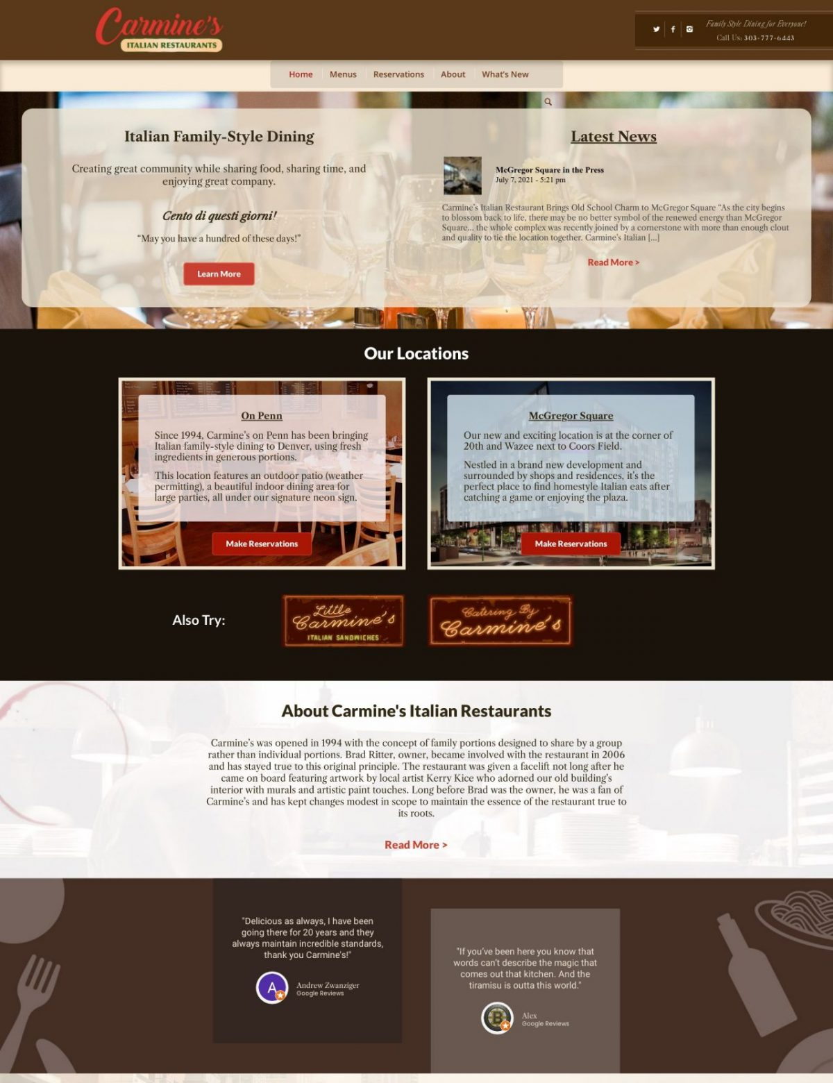 Carmines Restaurants