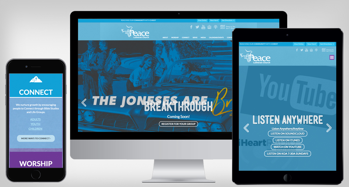 Peace Lutheran Device Preview
