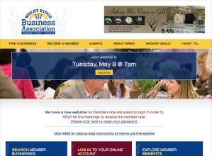 Wheat Ridge Business Association Screenshot